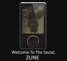 Zune Tee (Black) by rtronic