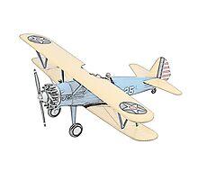Stearman PT-17 Bi-Plane Photographic Print