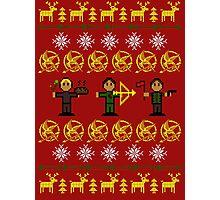 Christmas Games Ugly Sweater Shirt Photographic Print