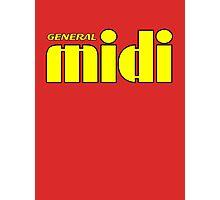 General Midi Yellow Photographic Print
