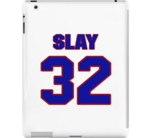 Basketball player Tamar Slay jersey 32 iPad Case/Skin