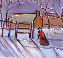 Winter (from my original acrylic painting) by sword