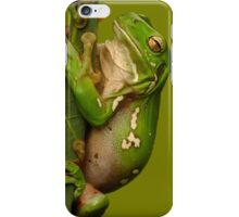 Hang in There Froggie iPhone Case/Skin