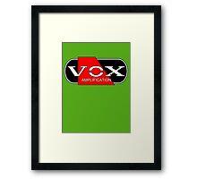 Cool Vox Framed Print