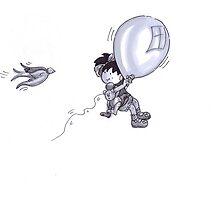 """A Balloon and a Bear"" Said Tullulah by Liesl Yvette Wilson"