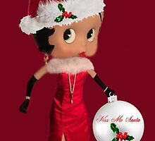 BETTY BOOP KISS ME SANTA PICTURE AND OR CARD by ✿✿ Bonita ✿✿ ђєℓℓσ