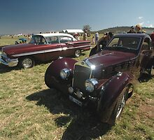 1936 Delage & 1958 Chevrolet @ Melton 2010 by muz2142