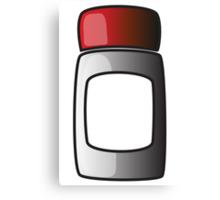 Screw lid tub / jar / bottle Canvas Print
