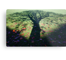Neath the Shade of the Tree... Metal Print