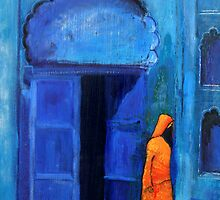 Blue door Marrakech by Summer Hues