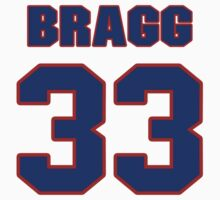 Basketball player Marques Bragg jersey 33 by imsport