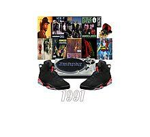 1991 Hip Hop & Jordans Photographic Print