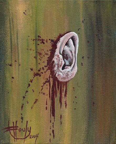 Van Gogh 39 S Ear By John Houle Redbubble