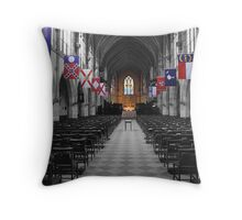 All Saints' Chapel-University of the South Throw Pillow