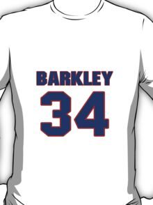 Basketball player Charles Barkley jersey 34 T-Shirt