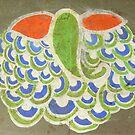 Rangoli (Lord Ganesh) by Lydia Cafarella