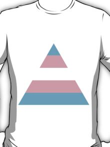 Transgender triangle flag T-Shirt