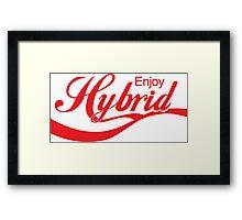 Enjoy Hybrid JDM Framed Print