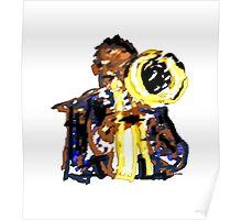 Jazz trumpetist Poster