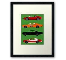 The Car's The TV Star Framed Print