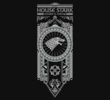 House Stark (White) T-Shirt