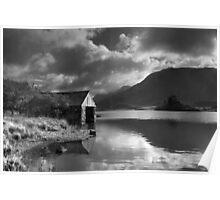 Boathouse, Llyn Cregennen Poster
