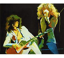 Just the Best. Robert Plant and Jimmy Page  Photographic Print