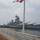 Battleship New Jersey by Matthew Williams