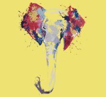 Elephant Art Kids Clothes