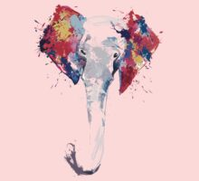 Elephant Art Kids Clothes
