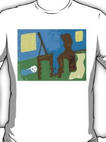 WOMAN AND CAT T-Shirt