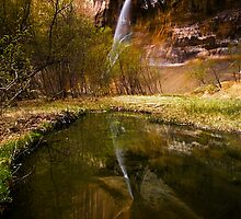 Lower Calf Creek Falls by Nolan Nitschke