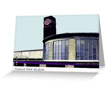 Chiswick Park Station Greeting Card