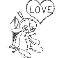 voodoo doll love stitch by DarkrutoDesign