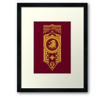 House Lannister Framed Print