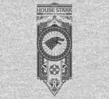 House Stark (Black) Kids Clothes