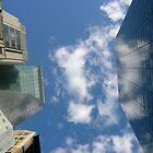 Touching the Manhattan Sky by Leonard Owen