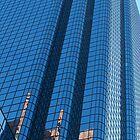 Boston Blue Glass by Roslyn Lunetta