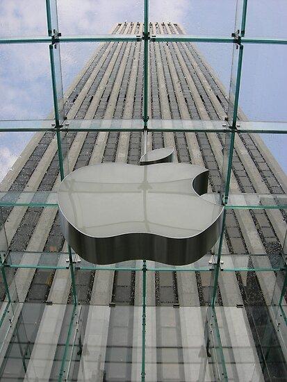 Glass Apple by Leonard Owen