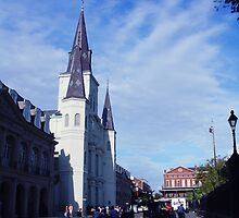 Near Jackson Square on a Tuesday by APhillips