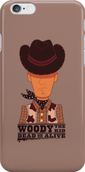 Woody the Kid IPhone by loku