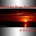 Sunrise Chanukkah Blessings (holiday card) by TerriRiver