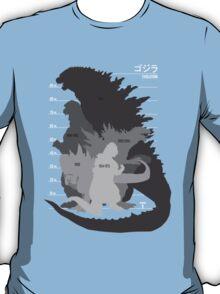 Monster Evolution Black T-Shirt