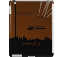 Minimalist Halo 3 ODST Poster iPad Case/Skin