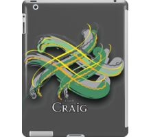 Craig Tartan Twist iPad Case/Skin