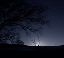 Moonrise, Monzie, Perthshire by PigleT