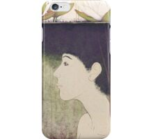 mermaid with lily iPhone Case/Skin