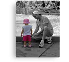 Cherished Moments Canvas Print