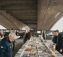 Book market Waterloo Bridge by joelmeadows1