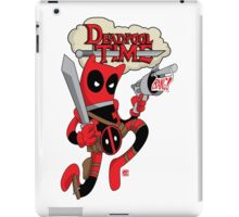 Deadpool Time iPad Case/Skin